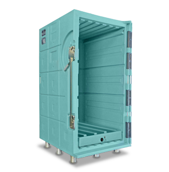 armoire isotherme ouverte