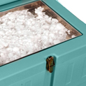 Dry ice drawer